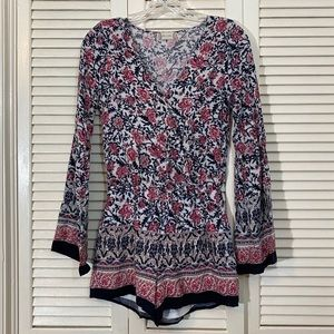 Altar'd State Bell Sleeve Romper
